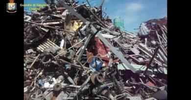 Inchiesta traffico rifiuti metallici, sequestrati beni per 1,3 milioni