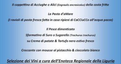A tavola in ricordo di Federico Ricci